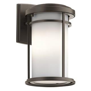 Kichler Lighting Toman Collection 1-light Olde Bronze Outdoor Wall Lantern