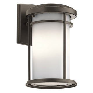 Kichler Lighting Toman Collection 1-light Olde Bronze Outdoor LED Wall Lantern