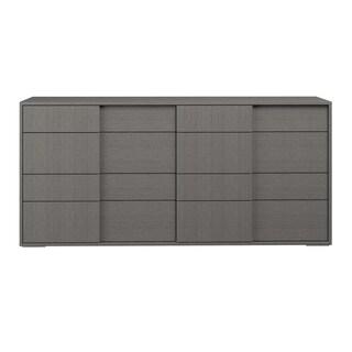 Stella Double Dresser, Matte Grey