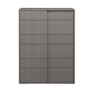 Stella High Chest, Matte Grey