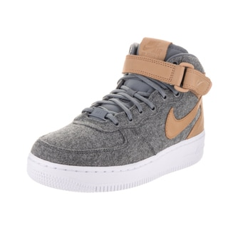 Nike Women's Air Force 1 Mid Lthr Prm Basketball Shoe