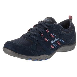 Skechers Women's Breathe Easy - Good Luck Casual Shoe