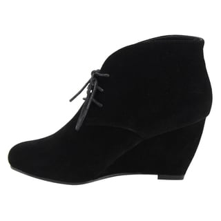 Black Booties - Overstock.com Shopping - Trendy, Designer Shoes