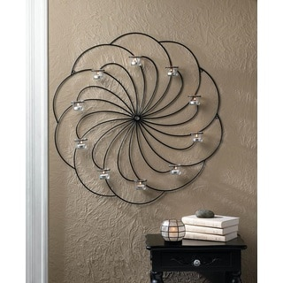 Clancey Circular Candle Wall Decor