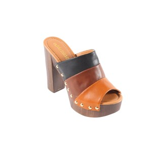 Hadari Women's Sabrina Open Toe Clogs (5 options available)