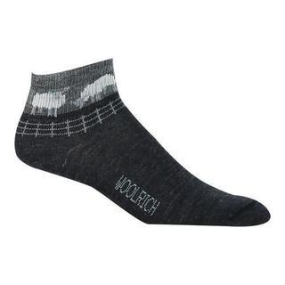 Women's Woolrich Mini Sheep Novelty Quarter Sock (2 Pairs) Jet