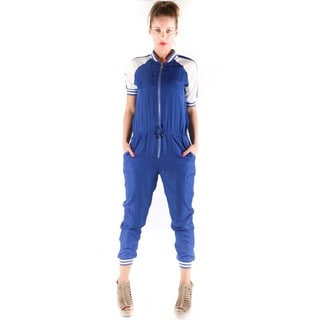 Hadari Women's Color Contrast Jumpsuit