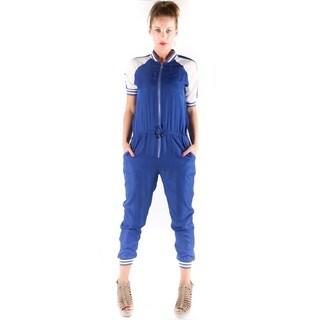 Hadari Women's Color Contrast Jumpsuit
