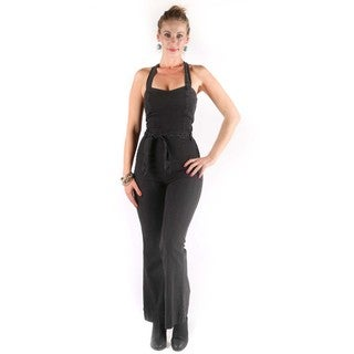 Hadari Women's Mary Sleeveless Jumpsuit