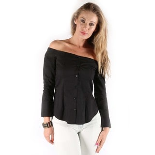 Hadari Women's Dianne Off Shoulder Blouse