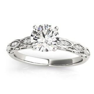 Transcendent Brilliance 14k White, Rose Or Yellow Gold 1 1/10ct TDW White Diamond Antique Style Engagement Ring (F-G, VS1-VS2)
