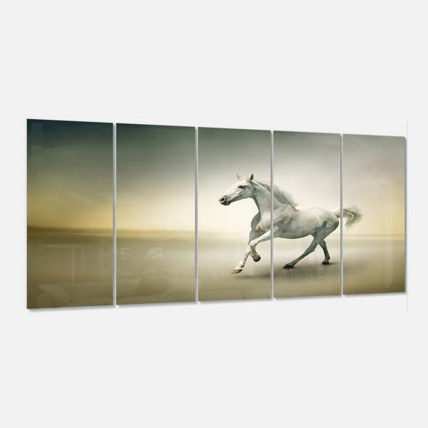 Fire Horse Canvas Print 20*25 Inch HUGE !