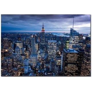 Yakov Agami, 'New York City, NY' Canvas Art (As Is Item)