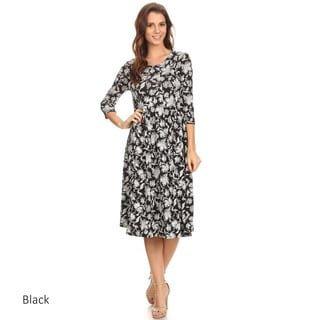Women's Floral Tapestry Dress
