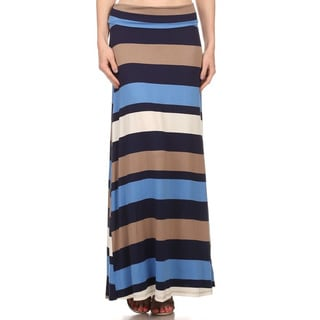 Women's Multi Maxi Skirt