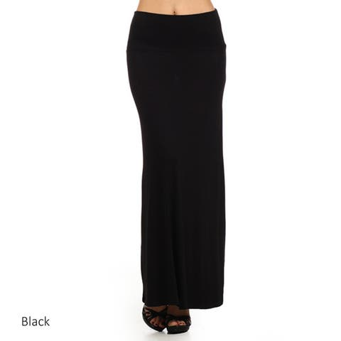 eb8f3843afd9 Buy Black Long Skirts Online at Overstock   Our Best Skirts Deals
