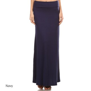 Women's Solid Maxi Skirt (More options available)