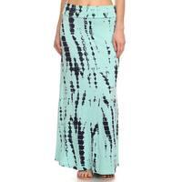 Women's Tie-dye Maxi Skirt
