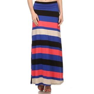 Women's Multicolored Maxi Skirt