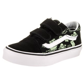 Vans Kids Old Skool V (Glow Pirate) Skate Shoe