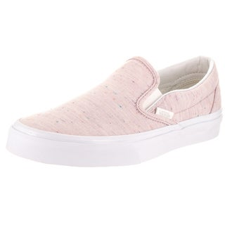 Vans Unisex Classic Slip-On (Speckle Jersey) Skate Shoe
