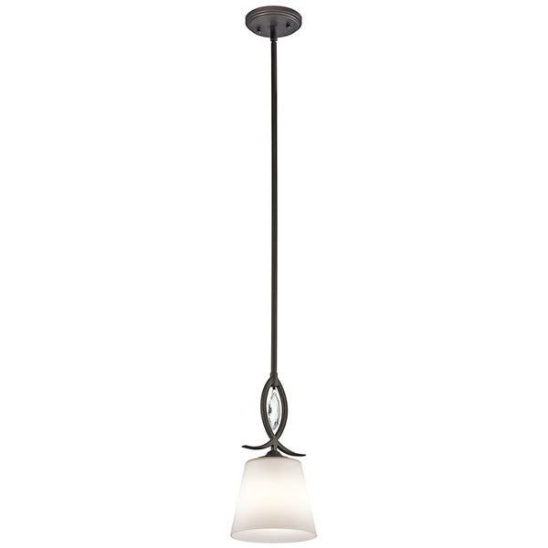 Kichler Lighting Casilda Collection 1-light Olde Bronze Mini Pendant