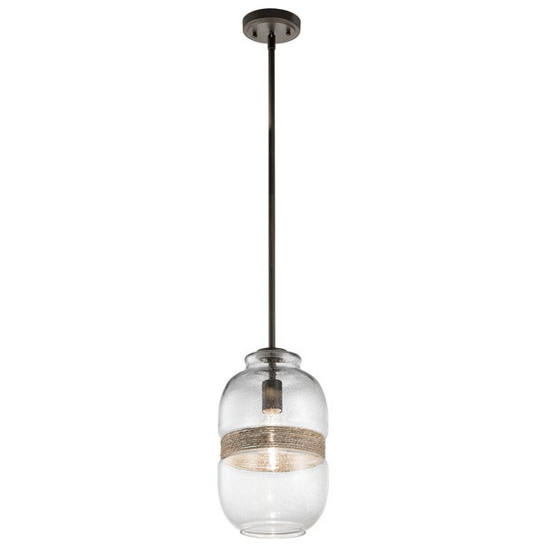 Kichler Lighting Kinny Collection 1-light Olde Bronze Pendant