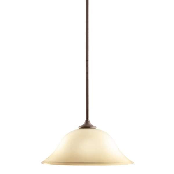 Kichler Lighting Wedgeport Collection 1-light Olde Bronze Pendant