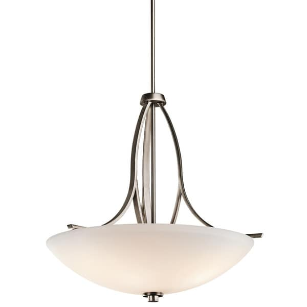 Kichler Lighting Granby Collection 3-light Brushed Pewter Pendant