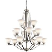 Kichler Lighting Langford Collection 15-light Brushed Nickel Chandelier