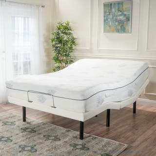 Kirke Queen Size Aloe Gel Memory Foam Adjustable Mattress Set by Christopher Knight Home|https://ak1.ostkcdn.com/images/products/13980674/P20606339.jpg?impolicy=medium