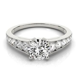 Transcendent Brilliance 14k White, Rose Or Yellow Gold 7/8ct TDW White Diamond Classic Graduate Engagement Ring (F-G, VS1-VS2)