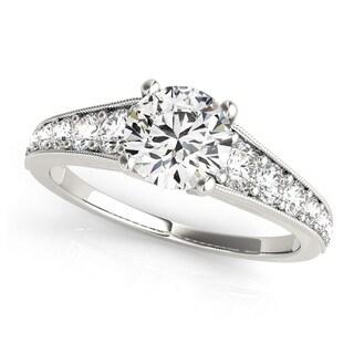 Transcendent Brilliance 14k White, Rose Or Yellow Gold 1 3/8ct TDW White Diamond Graduate Engagement Ring (F-G, VS1-VS2)