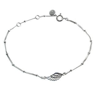 Handcrafted Sterling Silver 'One-winged Angel' Bracelet (Indonesia)