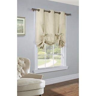 Prescott Insulated Tie Up Window Curtain Panel
