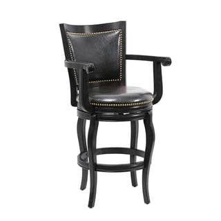 Boraam Harris Collection Black Brown Wood Dining And