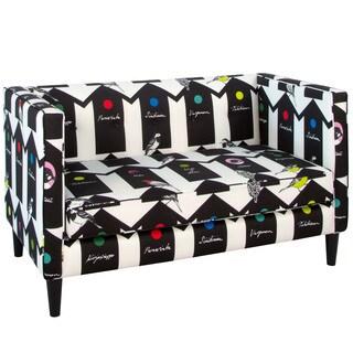 Skyline Furniture Tufted Loveseat in Bird House Bird House