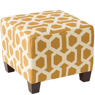 Skyline Furniture Ottoman in Hopscotch Midas