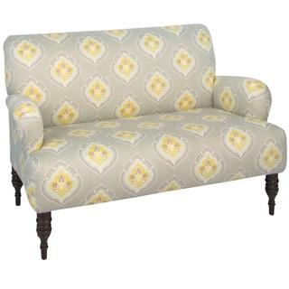 Skyline Furniture Jumana Yellow Modern Loveseat