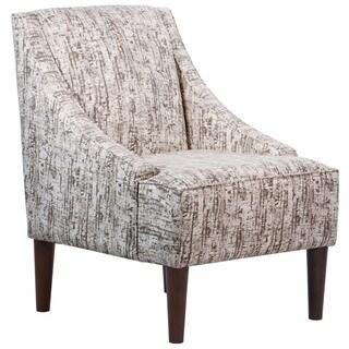 Skyline Furniture City Lights Titanium Mid-century Modern Accent Chair