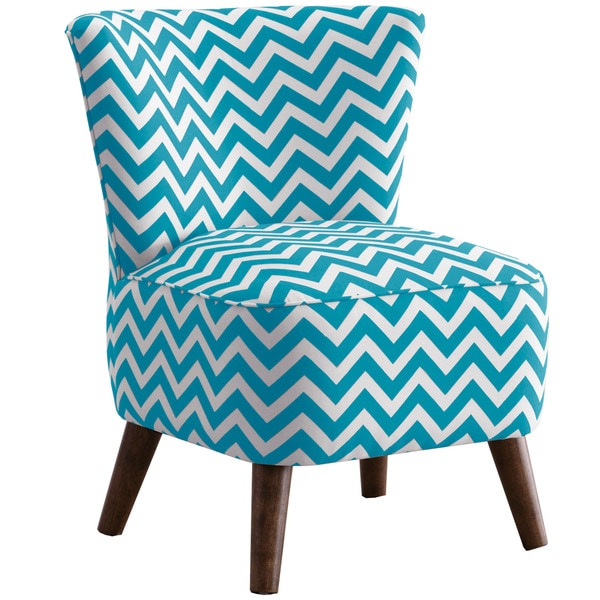 Shop Skyline Furniture Slipper Accent Chair Zig Zag True