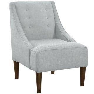 Skyline Furniture Mid-century Modern Linen Chair
