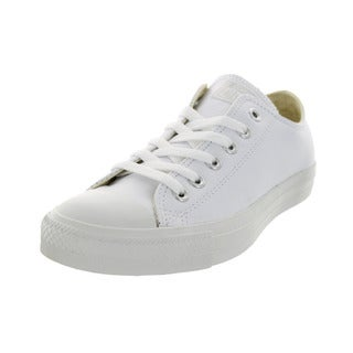 Converse Unisex Chuck Taylor White Leather Basketball Shoe