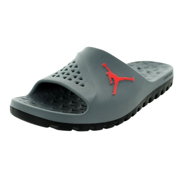 first rate bf47a cf72e Shop Nike Jordan Men's Jordan Super.Fly Team Grey Synthetic ...