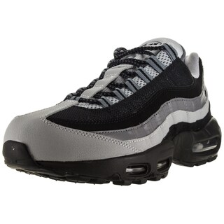 Nike Men's Air Max 95 Essential Black and Grey Running Shoes