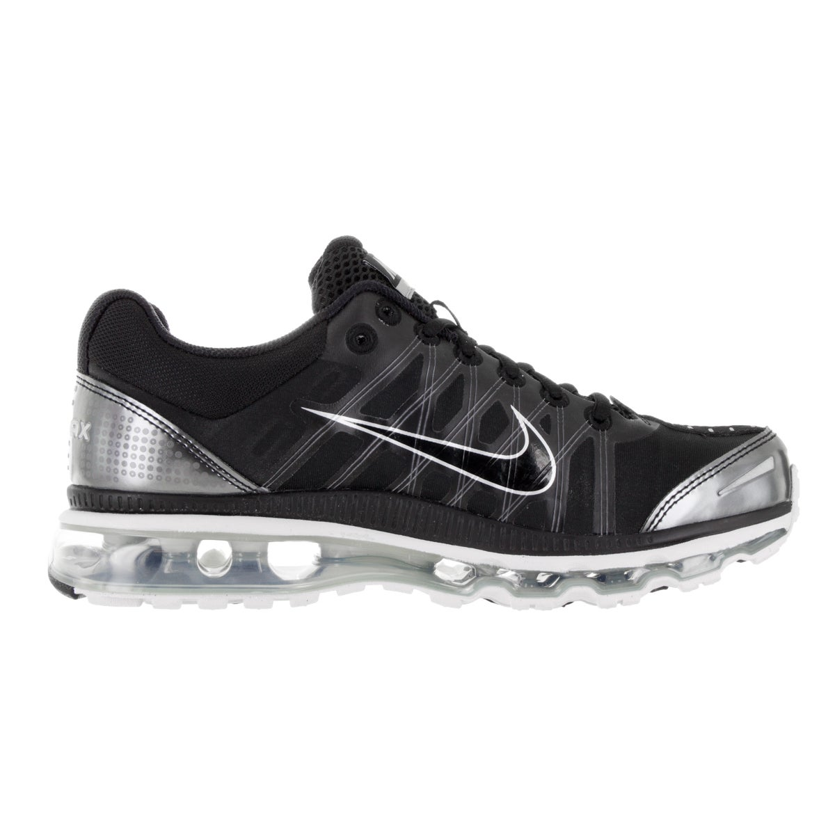 Madam Decorative Zoo at night  Shop Nike Men's Air Max 2009 Black Synthetic Leather Running Shoes -  Overstock - 13982325