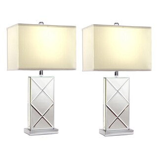 Rory Mirrored Table Lamp (Set of 2)