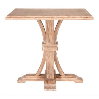 Gray Manor Darby Square Beige Wood Counter-height Dining Table