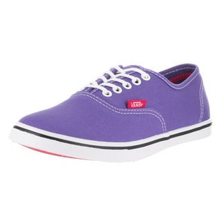 Vans Unisex Authentic Lo Pro (Pop) Purple Canvas Skate Shoe