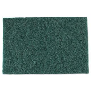 Royal Medium-Duty Scouring Pad 6 x 9 Green (Box of 60)